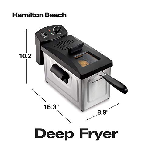 Friteuse à Capacité d'Huile de 3 Litres Hamilton Beach - Modèle 35033C - 7