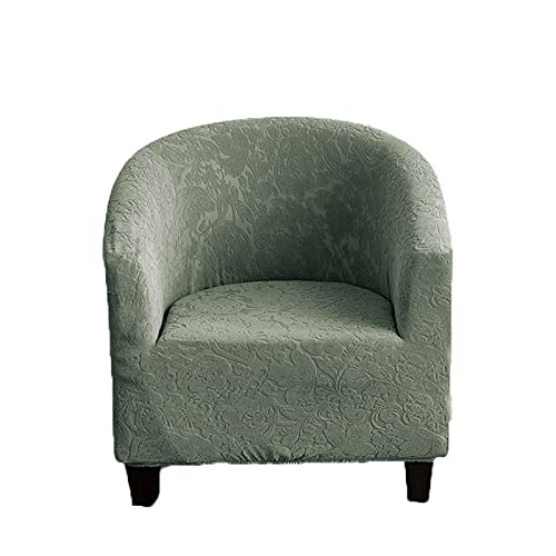 EXTLEZSA Funda para Sofá Club Chair, Elástico Tejido Jacquard De Y Fundas De Sofá Suaves Duraderas Tub Chair Sillón para Decoración De Salón, Oficina, Hotel (Color : A5)