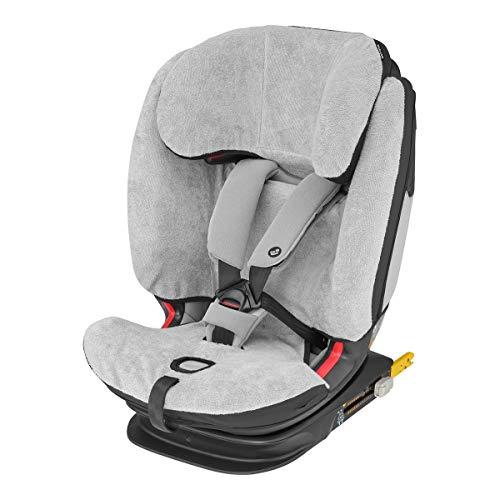 Maxi-Cosi Sommerbezug, passend für Titan, Titan Plus und Titan Pro Kindersitz, Schonbezug Autositz, Bezug für die warmen Sommertage, Fresh Grey