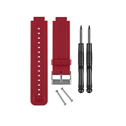 Garmin - Bracelet de Rechange pour Montres Vivoactive - Silicone - Rouge