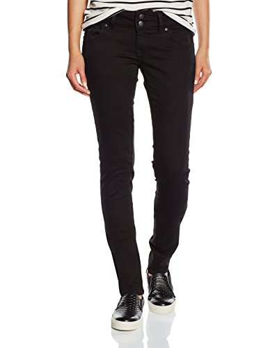 LTB Jeans Damen Molly Jeans, Schwarz (Black to Black Wash 4796), 25W / 30L