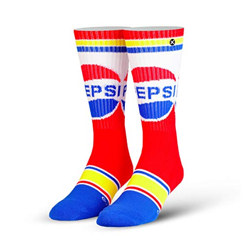 ODD SOX Adult Pepsi Retro Knit Socks Standard