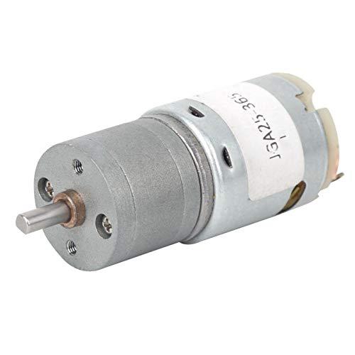 Uxsiya Motor de engranaje de metal, accesorios de herramientas eléctricas, motor de corriente continua para máquina de cortar para pulidora de cuentas (6V-70RPM, Pisa Leaning Tower Type)
