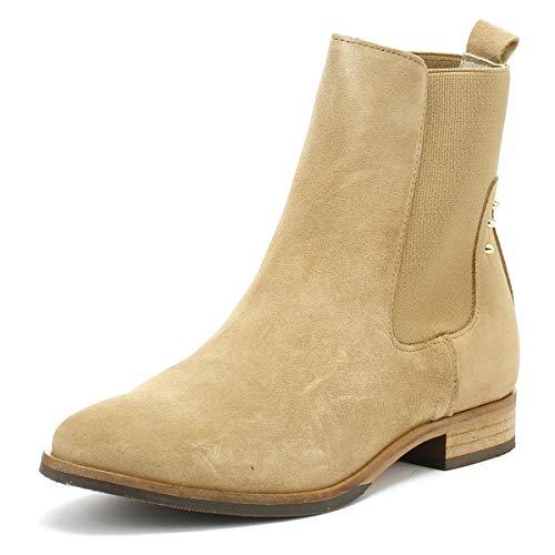 Shoe the Bear Marla Femmes Sand Beige Suède Bottes-UK 4