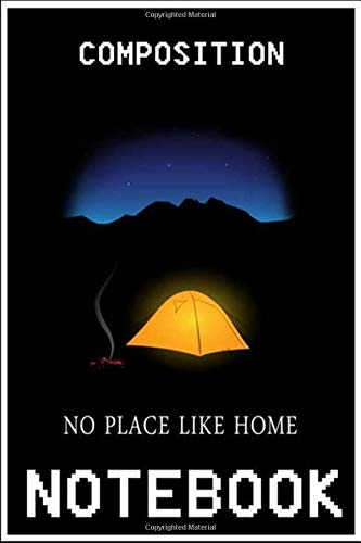 Notebook: No place like home notebook 100 pages 6x9 inch by Fika Alum