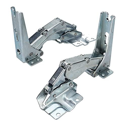 DL-pro Bisagra de puerta para Bosch Siemens Balay 481147 00481147 Miele 5546050 AEG Electrolux 407131425/8 para frigorífico...