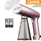 AMTOK Clothes Steamer, Portable Handheld Travel Iron 1500W Garment Steamer with 320 ml