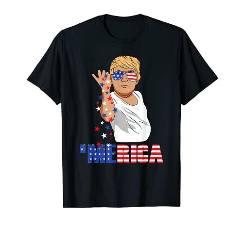 Funny Trump Salt Merica Freedom 4th of July T-Shirt Gifts T-Shirt