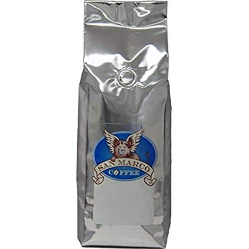 San Marco Coffee Flavored Ground Coffee, Egg Nog, 1 Pound