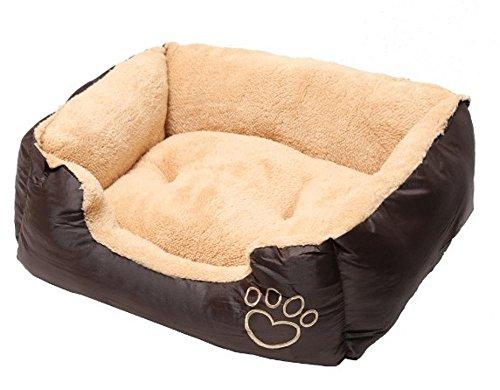 Weiwei Cama de Perro Kennel Gran Estera del Animal doméstico Cabra paño Grueso y Suave paño de Oxford