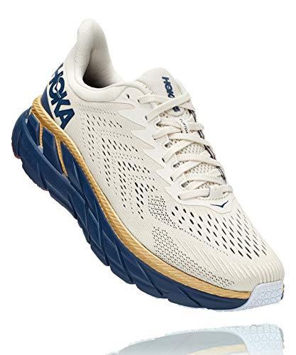 HOKA Clifton 7 - Zapatillas de running para mujer Blanco Size: 6.5