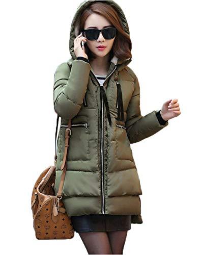 Gestikte jas dames mode elegante grote maten winterjas lange mouwen verdikking