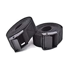 【MULTIPURPOSE LASHING STRAPS】--Tensioning Belts are used to transport heavy cargo,Luggage,bundling bulk products or to built hobby projects - a must Webbing Strap for Motorcycle,Trailer,Truck,SUP Kayak,or Boat,Household Goods. 【STRONG CAM BUCKLE WITH...