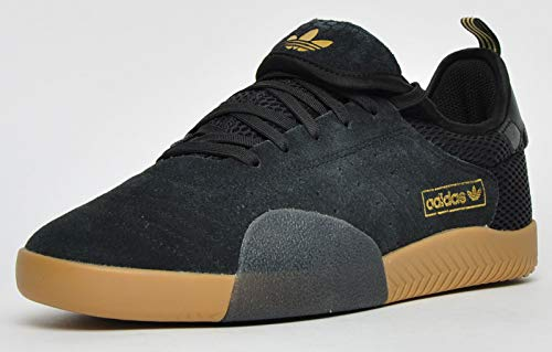 adidas Skateboarding 3ST.003, core Black-Gold metallic-core Black, 7