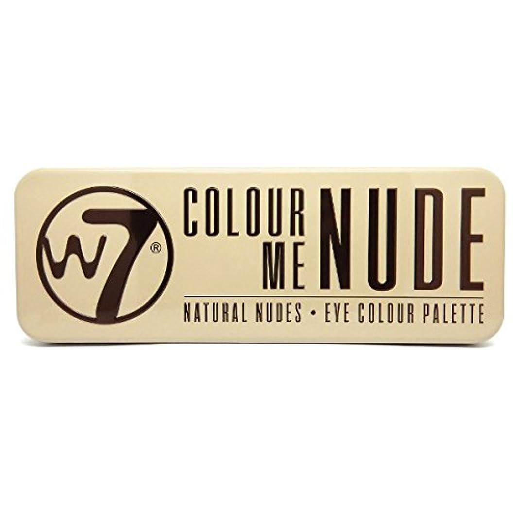 オート聖書軽蔑W7 Colour Me Nude Natural Nudes Eye Colour Palette (並行輸入品)