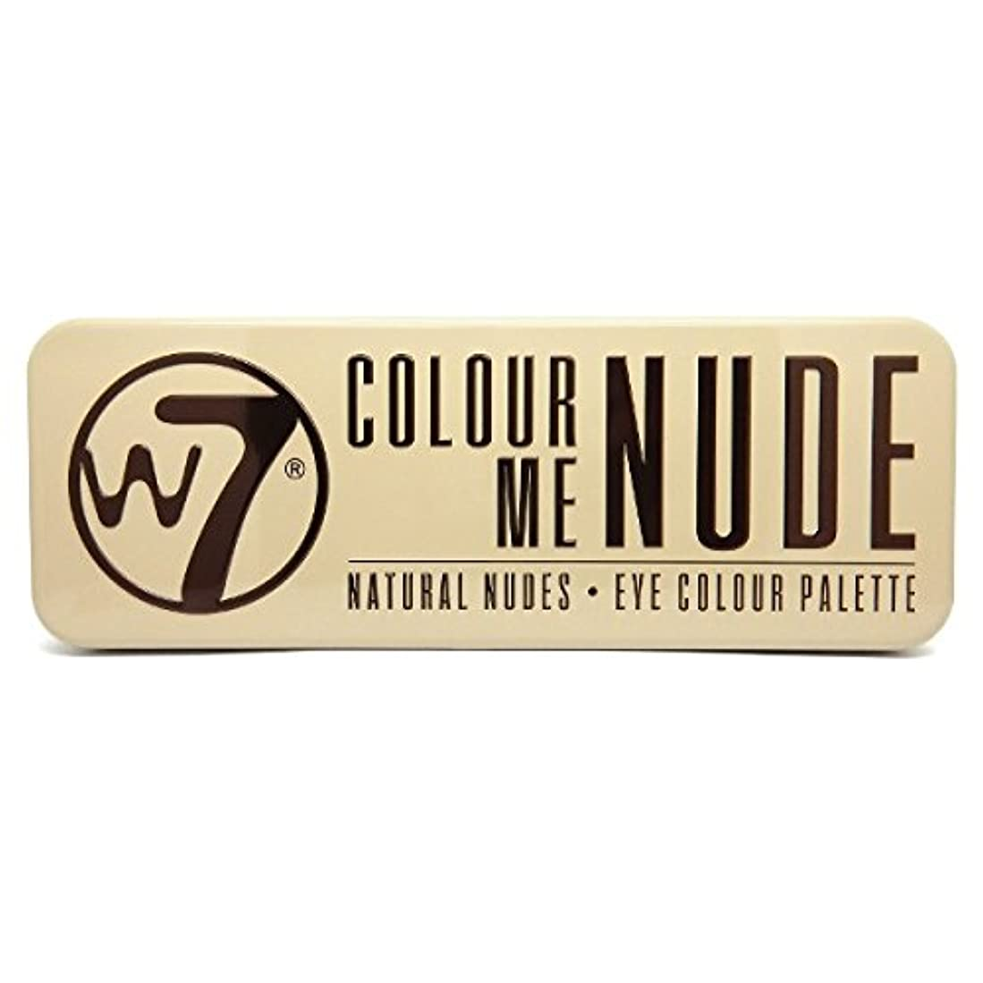 占める第二老朽化したW7 Colour Me Nude Natural Nudes Eye Colour Palette (並行輸入品)