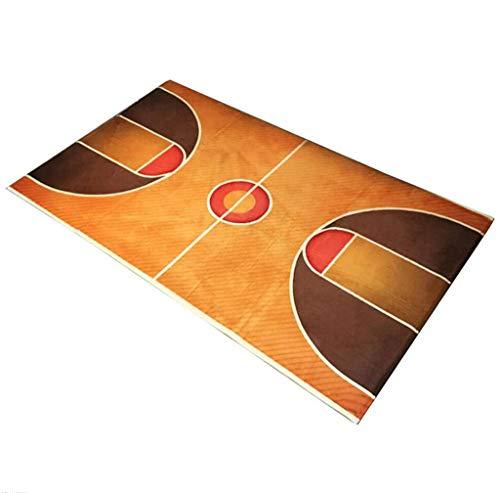 Moquettes tapis et sous-tapis Stylo de basketball Thicker Children Playing Mats Eco-friendly antidérapant Chambre à coucher Salle d'étude Tapis Tapis de porte (Couleur : #2, taille : 60 * 90cm)