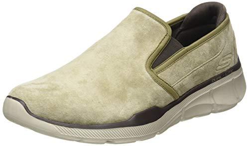 Skechers Equalizer 3.0-Substic, Zapatillas sin Cordones Hombre, Marrón (Brown Brn), 44 EU