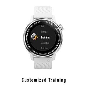 COROS APEX Premium Multisport GPS Watch (46mm White)   Ultra-Durable Battery Life   Titanium   Sapphire Glass   HR   Barometer, Altimeter, Compass   ANT+ & BLE Connections   Strava & TrainingPeaks