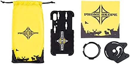 Phone Skope Complete Digiscoping Kit, Compatible with iPhones OR Samsung, Includes PhoneCase + Eyepiece Adapter + Lens Cloth