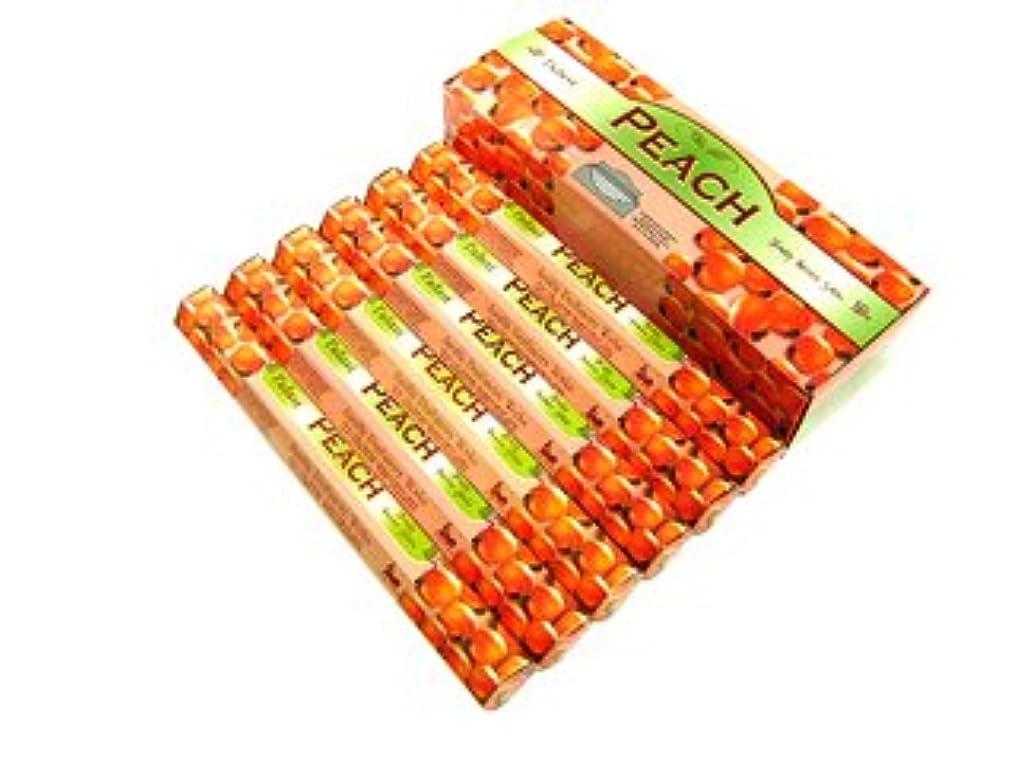 欠点睡眠不均一TULASI(トゥラシ) ピーチ香 スティック PEACH 6箱セット