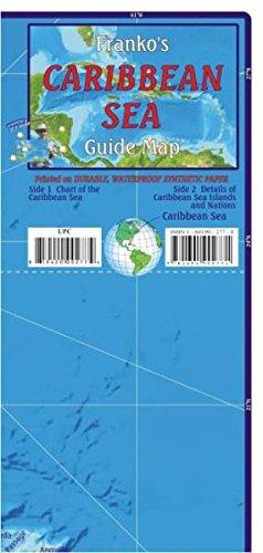 Caribbean Sea Guide: Tauch- und Schnorchel Freizeitkarte