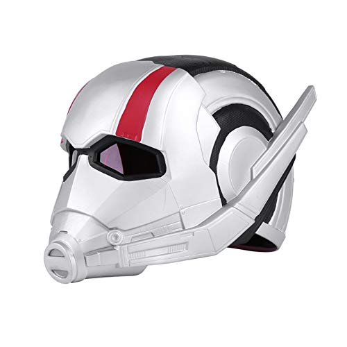 MODRYER Ant-man Wearable 1/1 Helmet Movie Fans Full Face Mask Men Adult Cosplay Costume Props for Halloween Party Masquerade Christmas,Antman