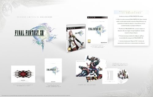 FINAL FANTASY XIII GIOCO PS3 LIMITED COLLECTOR'S EDITION ITALIANO SPECIAL