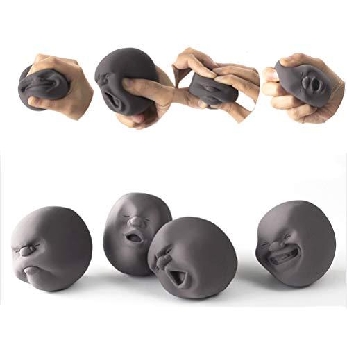 Human Emotion Face Vent Ball Relieve Stress Balls