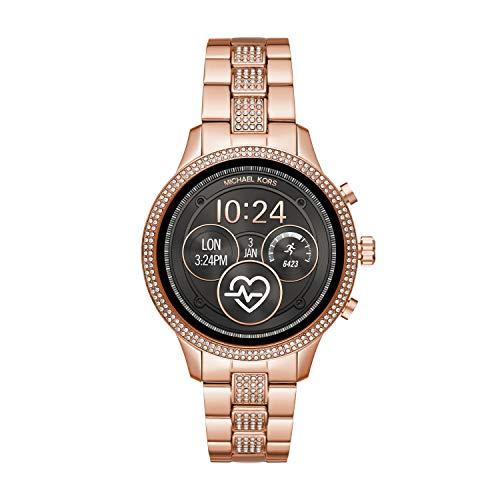 Michael Kors Damen-Smartwatch mit Edelstahl Armband MKT5052