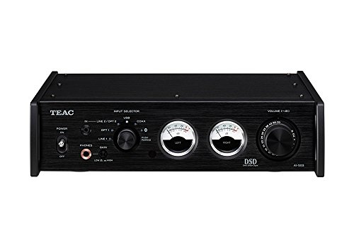 TEAC Built-in USB/DAC Integrated Amplifier Reference 500 Line AI-503-B (Black)【Japan Domestic Model】