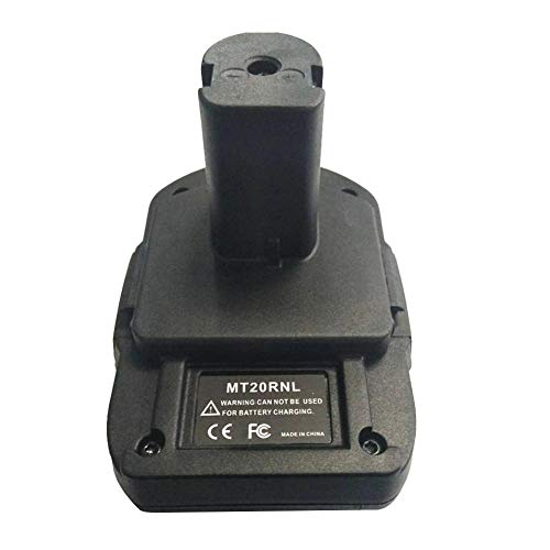 MT20RNL Batterieadapter Für Makita 18V Batterie Für Roybi 18V Batterie Batteriekonverter Mit USB-Ladeanschluss Batteriewerkzeuge Die Meisten Batterien Für MAKITA: BL1860B / BL1860 / BL1850B / BL1850