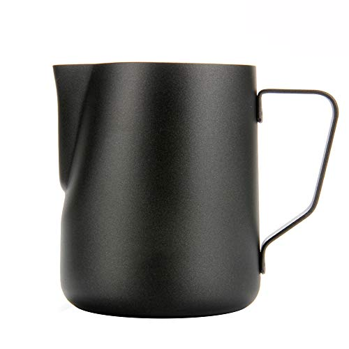 Milk Frothing Pitcher,WeHome Stainless Steel Espresso Coffee Frothing Pitcher Creamer Cappuccino Latte Art Making Cups
