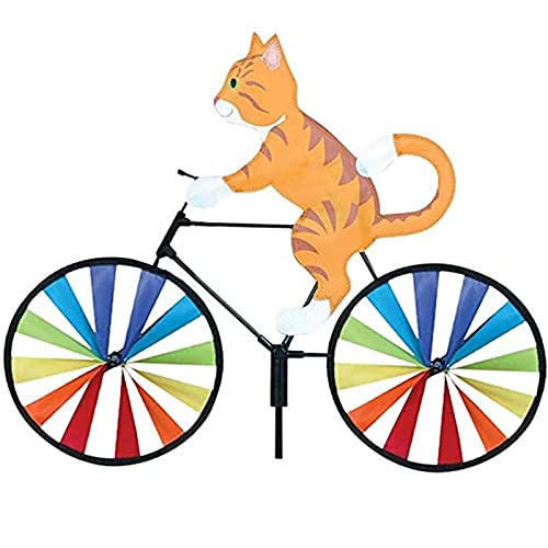 Kites Bike Wind Spinner para decoración al Aire Libre, Molinos de Viento de Animales, Decoraciones de estacas de jardín Whirly, Decoraciones de estacas de jardín Adornos de césped Decorativos-A