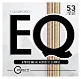 Cleartone EQ Acoustic Guitar Strings (7812)