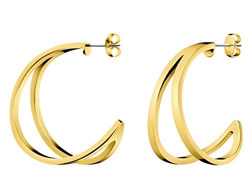 Calvin Klein KJ6VJE100200 Damescreolen, roestvrij staal