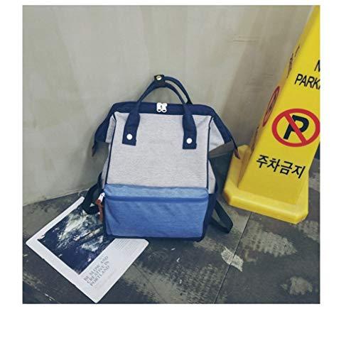 ASDFGH canvas rugzak, luiertas, laptoptas, mannen reizen, school, handtas voor vrouwen