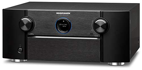 Marantz AV7705 - 11.2 Channel AV Audio Component Pre-Amplifier | IMAX Enhanced, Auro-3D & Dolby Surround | Wi-Fi, Bluetooth, AirPlay 2 & HEOS + Alexa