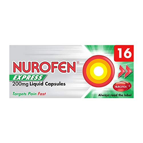 Alternative to paracetamol - Nurofen Express Liquid Capsules