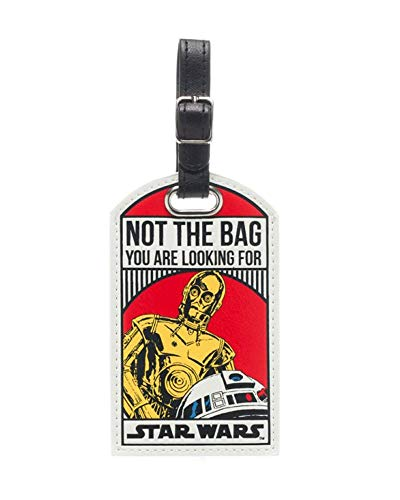 Star Wars R2-D2 C-3PO Not The Bag You are Looking for Droids Luggage Tag