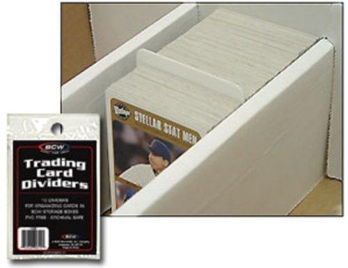 10 BCW Trading Card Dividers - Kartentrenner - Deck Divider - Magic - Yu-Gi-Oh!