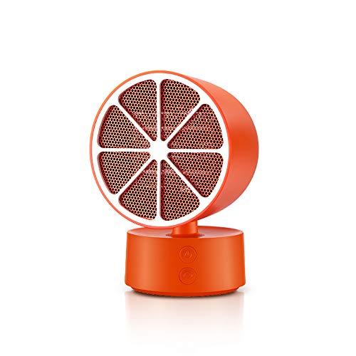 CZPF draagbare verwarming huishoudverwarming BüRo schudden kop 350 Watt energiebesparende kleine tafelverwarming, oranje