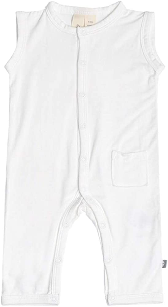 KYTE BABY Soft Bamboo Rayon Sleeveless Max 46% Inexpensive OFF Months Unis 0-24 Romper