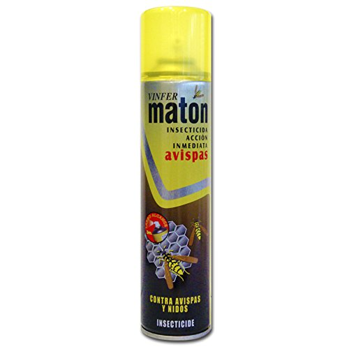 Vinfer Matón Insecticida Acción Inmediata Contra Avispas, Aerosol ,400 ml