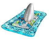 Gona Kart Light-Up Inflatable Shark Fin Buffet Cooler, 25.5in x 51in