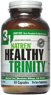 Natren Healthy Trinity Dairy Free Capsules, 60-Count