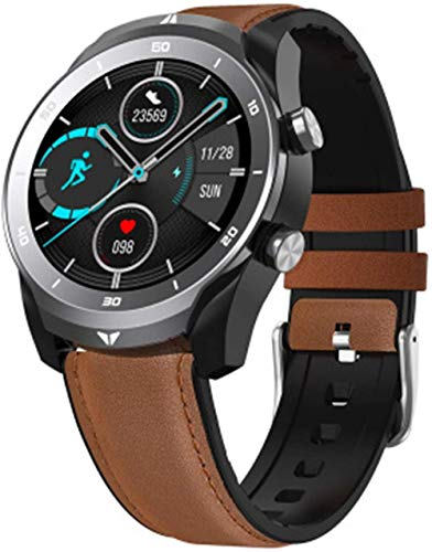wyingj Reloj Inteligente IP67 Impermeable Bluetooth Llamando Gran Batería Inteligente Watch-A