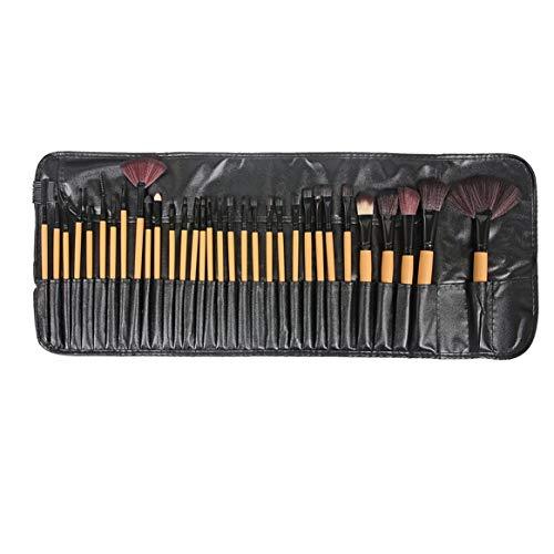 Kongqiabona-UK 32 pièces Pinceau de Maquillage Maquillage Professionnel Pinceau de Maquillage Ensemble Fondation Outils de beauté poignée en Plastique Outils de Maquillage