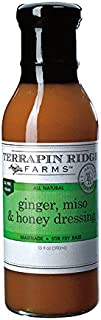 Terrapin Ridge Farms Dressing, Ginger Miso and Honey, 13 Ounce