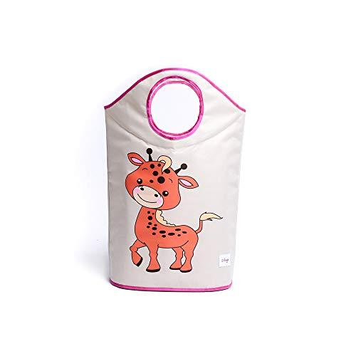 Miracle Baby Cesta de Tela Ropa Sucia,Cesta de Tela Impermeable Plegable.Cestos de lavanderíapara la Colada,Organizador Lavadero para Organizadoras Juguetes Ropa,ciervo.42 cm * 70 cm